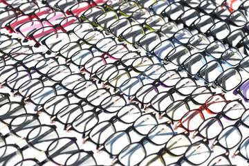 colorful eyeglasses