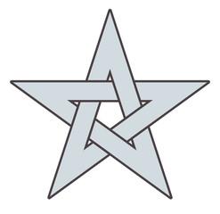 Pentagram Star Vector