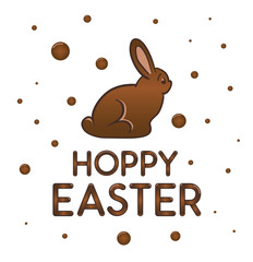 Happy Easter greeting vector