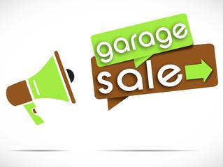 megaphone : garage sale