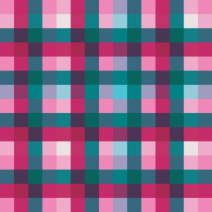 Geometric fabric style vector pattern