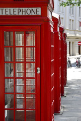 telephone booths detail