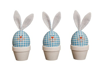 Easter eggs - rabbits