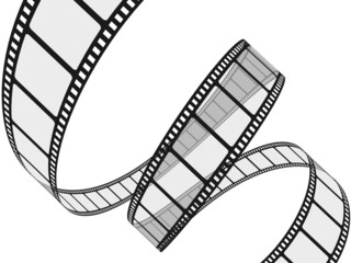 Film Reel. 3D. Film reel in high resolution