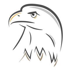 Stylized Eagle head design