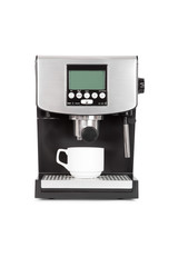 isolated coffe maker on a white background