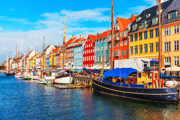 Photo sur Plexiglas Scandinavie Nyhavn, Copenhagen, Denmark