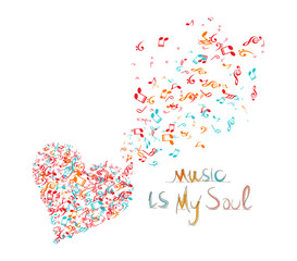 music is my soul background