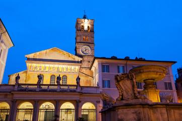 Roma Santa Maria in Trastevere