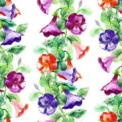 Petunia Seamless Garland