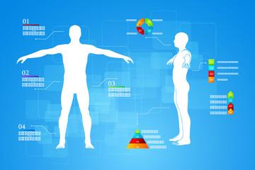 Infographics Human Body Anatomy