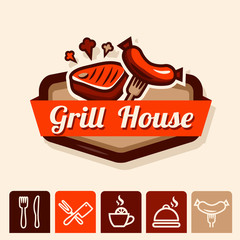 grill house emblem