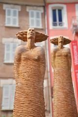 Statues d'Art.