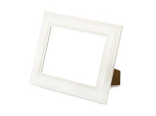 Desktop white frame