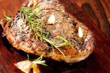entrecote steak braten