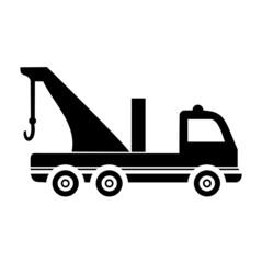 Breakdown truck - evacuator car