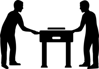 Football Table with Plyer