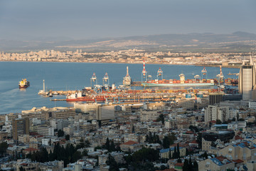 View of Haifa from Shnayim-November