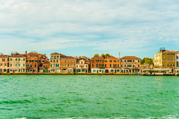 Panoramic view of Giudecca Island