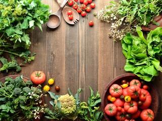 トマトと春の野菜