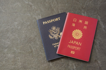 US and Japanese  Passport