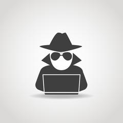 Anonymous Computer Icon