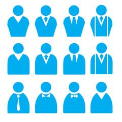Businessman Flat Icons