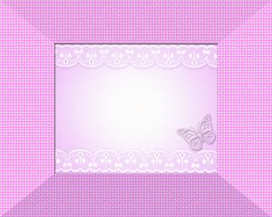 Cute baby shower or celebration frame
