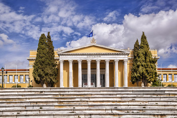 Building of The Zappeion in  Athens, Greece