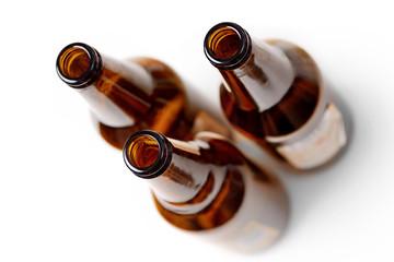 Obraz butelki po piwie - fototapety do salonu