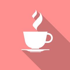 Cup of coffee, tea