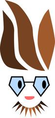 vousáč brunet