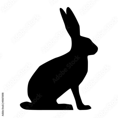 hase silhouette stockfotos und lizenzfreie vektoren auf bild 80670018. Black Bedroom Furniture Sets. Home Design Ideas
