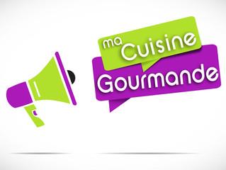 mégaphone : ma cuisine gourmande