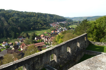 Schlossruine Forchtenberg