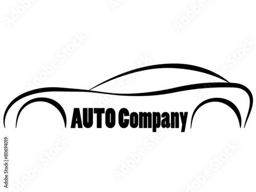 Car Symbols Sihlouette Company Logo Stock Image And Royalty Free