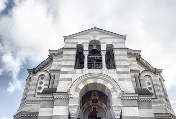 The Vladimir cathedral in Sevastopol