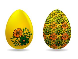 Vector illustration - easter eggs