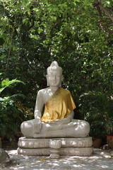 シルバーパゴダの仏像
