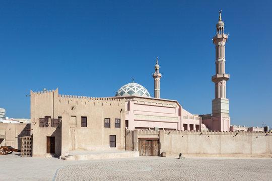 Mosque in Ajman, United Arab Emirates