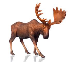 Figure of a moose