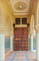 Moroccan Architecture in Moroccan Pavilion Putrajaya Malaysia