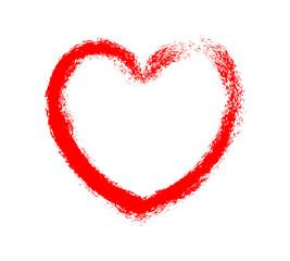 Grunge Valentine Heart