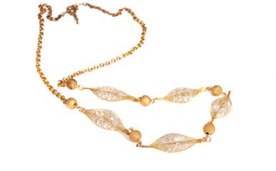 Gold modern chain