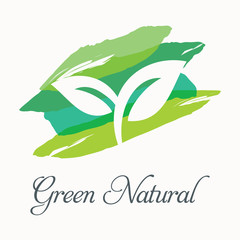 Green nature illustration 2.