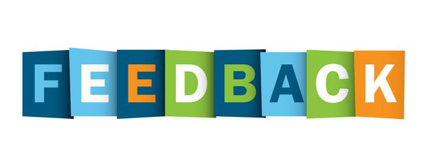 FEEDBACK icon (service customer survey satisfaction)