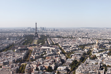 Paris, aerial view.