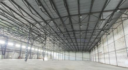 warehouse, empty