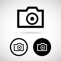 camera icon great for any use. Vector EPS10.