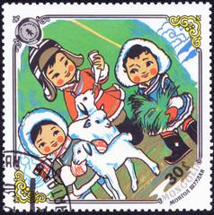 MONGOLIA - CIRCA 1985: